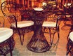 Autor: Miguel Ángel Morales Medina, Títol: Hiperboloide de una hoja en la terraza del café